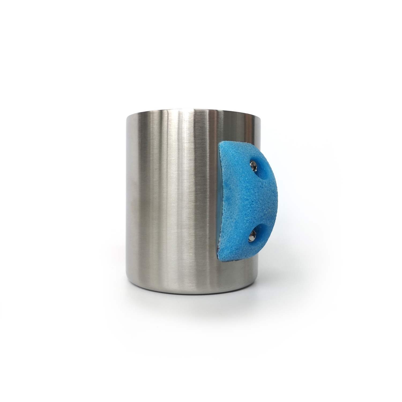 NiceClimbs Stainless Steel Rock Climbing Mug